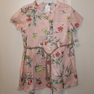 NWT Carter's Floral 18 Month Dress with Bloomers